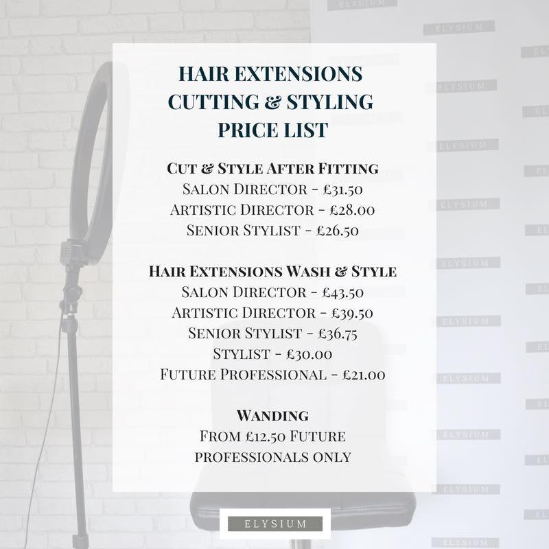 Hair Extensions Elysium Hair Salon Manchester