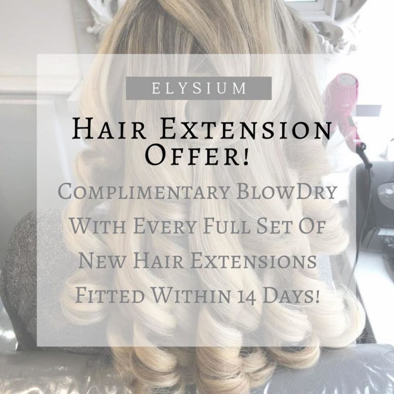 Hair Extensions Offer Elysium Hair Salon Manchester