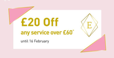 £20 off any service over £60